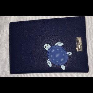 Kate Spade turtle passport case